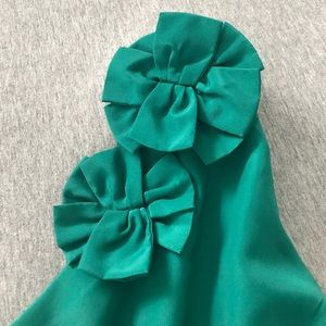 Annabelle Dresses - One strap teal dress